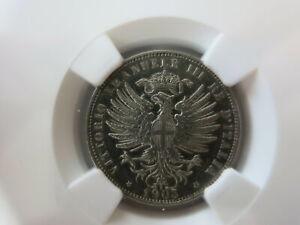 ITALY 25 centesimi 1903 Rome NGC AU 58 Scarce UNC
