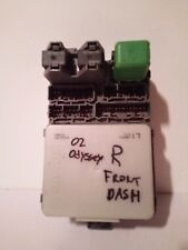 02 2002 HONDA ODYSSEY RT RIGHT PASSENGER SIDE UNDER DASH RELAY FUSE BOX - A48