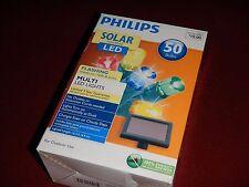 philips solar powered led christmas lights 50 bulbs value