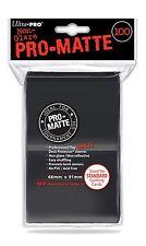 100 Bustine Protettive Ultra PRO Magic PRO MATTE STANDARD Black Nero Buste Deck