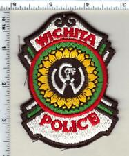 Wichita Police (Kansas) Shoulder Patch - new from 1999