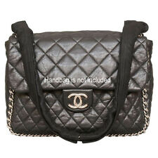 Black Chain Wraps for Chanel Chain Around Maxi Flap - Handbag is NOT included