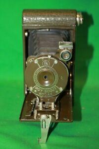 Vintage Original 1930's Kodak Boy Scout Vest Pocket Folding Camera w/ case