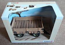 Schleich 42042 .. toy TRUCK TRAILER ..  Safari / Farm / Animals .. * Brand New