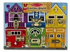 Melissa & Doug Wooden Latches Board #3785 BRAND NEW