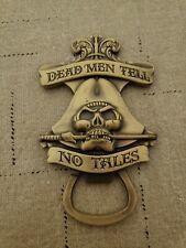 Disney Parks Pirates Of Caribbean Dead Men tell no tales Bottle Opener Magnet