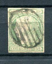 1852.ESPAÑA.EDIFIL 15 (oder) .usado.firmado Cajal.cat