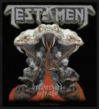 Testament-Brotherhood of the Snake écusson patch Trash Metal Heavy NEUF