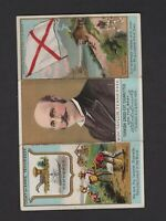 1888 N133 State Cards/Governors/Coat of Arms Folder Gov. Taylor Tennessee