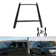 For 05-18 Toyota Tacoma Double Cab Luggage Carrier Roof Rack Crossbar Side Rails