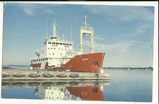 Canadian Coast Guard CCGS Griffon Prescott Ontario  Ship Postcard