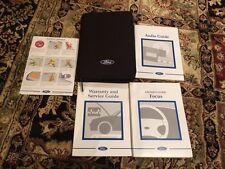 Ford Focus Owners Manual Handbook (1999-2001)