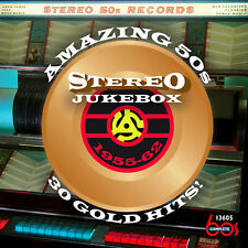 New CD Amazing 50s Stereo Jukebox: 30 Gold Hits 1955-1962 25 Stereo Debuts