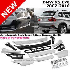 BMW X5 3.0si 4.8si 4.8i E70 07-10 Aerodynamic Body Front & Rear Bumper Lip Kit