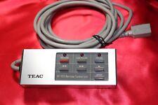 1 ORIGINAL TEAC RC-133 REMOTE CONTROL e.g. for TEAC-1000R, Tascam 133 and so on