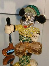 Swarovski Disney Arribas Figur Mickey Maus Mickey Mouse Golfer