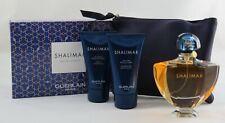 Guerlain Shalimar Set 90 ml EDT + 75 ml Body Lotion + 75 ml Duschgel + Bag