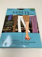 VTG Assets by Sara Blakely Mid-Thigh Shaper Black Size 2 Pantyhose underwear