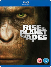 BLU-RAY  RISE OF THE PLANET OF THE APES    NEW SEALED UK STOCK