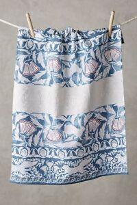 NWT Anthropologie Maisy Creatures Kitchen Towel