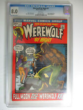 Werewolf By Night #1, CGC, Very Fine, 8.0, White Pages