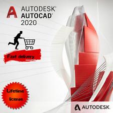 Autodesk AutoCAD 2020 | Windows or Mac | MultiLanguage