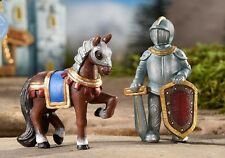Knight and Steed / Horse Set of 2  700296 Miniature Fairy Garden