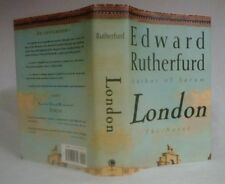 LONDON by Edward Rutherfurd~Stated 1st Amer Ed/1st Print Full #Line~1997 HCDJ
