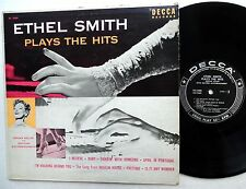 "ETHEL SMITH Plays the Hits DECCA 10"" LP"