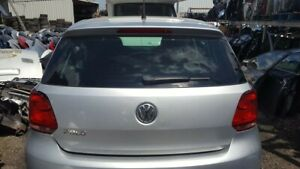 Volkswagen polo 2010 - 2014 Tailgate  / Bootlid In Silver