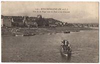 CPA 49 - BOUCHEMAINE (Maine et Loire) - 142. Vue de la Plage vers le pont
