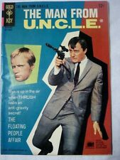 The Man from U.N.C.L.E. #8 (Sep 1966, Western Publishing) FP FN+