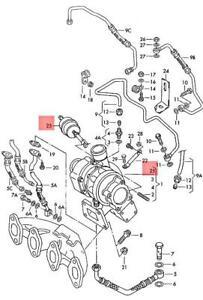 Genuine Volkswagen Pressure Unit NOS Jetta Passat Rabbit Golf Cabrio 028145716E