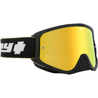 Spy MX Woot Race 25th Anniversary Black Gold Motocross Dirt Bike Goggles
