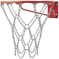 Outdoor Basketball Net Rim Heavy Duty Chain Chains Metal Link Hoop Rustproof NEW