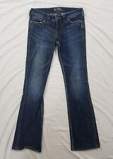 Silver Frances Womens Dark Wash Straight Leg Jeans Size 28x31
