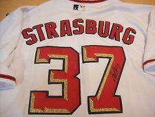 STEPHEN STRASBURG WASHINGTON NATIONALS AUTHENTIC SIGNED JERSEY W/JSA LOA
