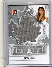 LARISSA GOMES /11 ITG Canadiana Mega Memorabilia *WORN* T-Shirt Saw 6 VI 3D HOT!