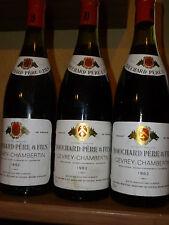 Bouchard pere et Fils-Gevrey Chambertin 1982 (3 bottle)