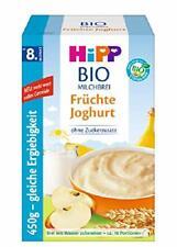 Hipp Bio Milchbrei Früchte Jogurt 3x 450g Dinkel Hafer Ringe 7x 30g MHD 09/20