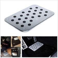 Universal Car Floor Mat Carpet Thick Aluminiun Heel Plate Pedal For All Car