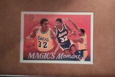 CARD NBA UPPER DECK MAGIC'S MOMENT N. 106