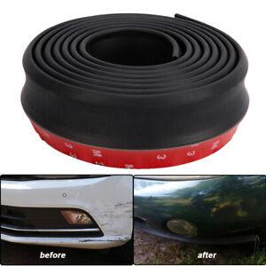 8.2ft Universal Car Bumper Lip Strip Front Rubber Protectors Splitter Spoiler