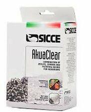 Seachem Akuaclear zeolite carbone e resine contro ammoniaca fosfati e silicati