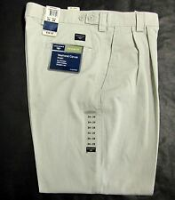 DOCKERS NWT MEN'S WEATHERED CANVAS KHAKI PLEATED FRONT RELAXED 34x29 DRESS PANTS