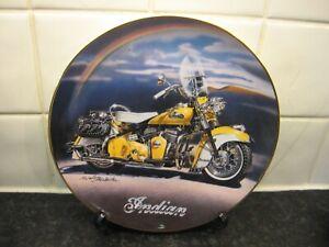 MOTORBIKE   PLATE  -  1953  ROADMASTER -  FRANKLIN MINT