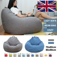 Giant Bean Bag Chairs Couch Sofa Cover Indoor Lazy Lounger for Christmas