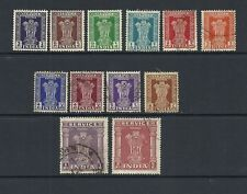 Single George VI (1936-1952) Indian Stamps (Pre-1947)