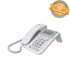 BT Decor 2200 Corded Telephone Caller ID with Phonebook and Speakerphone - White