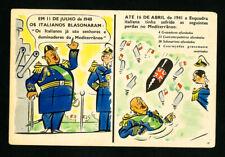 South America 1940 Propaganda Card
